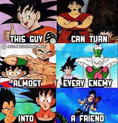 Coz he's Goku #dbz #dragonballz