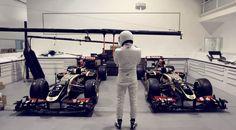 Stig breekt in bij Lotus Formule 1-team
