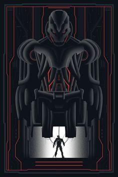 """Ultron - Past / Present"" by SPACEMAN / Khoa Ho"
