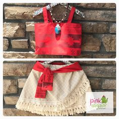 January Delivery  MOANA costume outfit 2pc custom set  Sizes