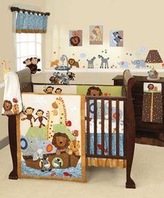 Set sail with a Noah's Arc nursery set. #Kohls