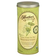 1 can of 45 jumbo tea bags  De-bloat with the freshest, strongest, and most delicious fennel tea!