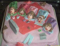 sleep over cake - Google Search