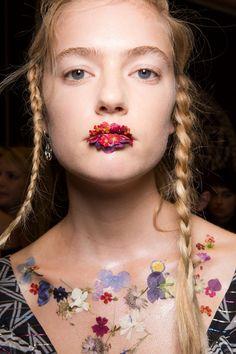 "See How MAC Cosmetics Transformed Preen's Runway Models Into ""Flower Girls"""