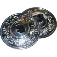 West African Bellydance 2 Pair(4 piece) Belly Dance Finger Cymbals Zills Sagats