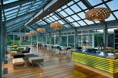 Noel Lane Architects - brick Bay wine tasting room
