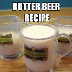 Brew your own Butter Beer!