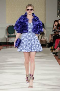 Camila Dress + Magdalena Cape - A/W14 Collection #LFW #chic #womenswear #pattern