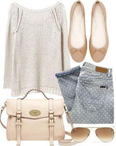 Summer modern vintage outfit