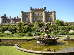 Culzean Castle - In between Ayr and Girvan, Culzean Castle was first built in the 16th century. It lies on the South Ayrshire coast. The rumor is the sole ghost occupying the castle is a handless women who was the daughter of the first Earl of Cassillis