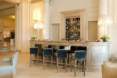 Starhotels - Savoia Excelsior Palace, luxury hotel in Trieste Italy Trieste, Hotel Reviews, Palace, Bar, Luxury, Interior, Table, Furniture, Home Decor