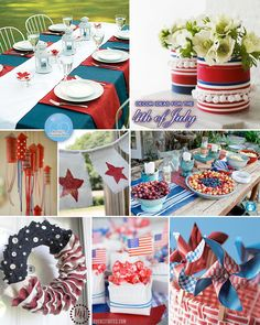 Next Year! 4th of July Decorations and Craft Ideas - Brenda's Wedding Blog - unique daily wedding blogs from Best Wedding Sites for brides & grooms