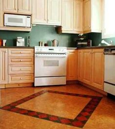 Cork Flooring Is A Renewable Material That Both Environmentally Friendly And Beautiful Kitchen Layout