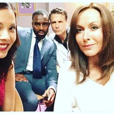 look how loved up and are. Who cares about Connie & Jacob - how about David & Jacob! Casualty Tv Show, Casualty Cast, Holby City, Casting Pics, Love My Job, Behind The Scenes, Movie Tv, Amanda, Tv Shows
