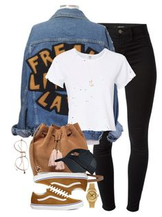 """16:43"" by mcmlxxi ❤ liked on Polyvore featuring J Brand, RE/DONE, UGG, Vans, NIKE, Rolex and Full Tilt"