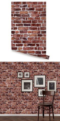 Brick white peel and stick wallpaper wall sticker outlet for Wallpaper outlet