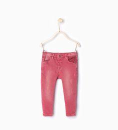 ZARA - KIDS - Crochet trousers with pocket