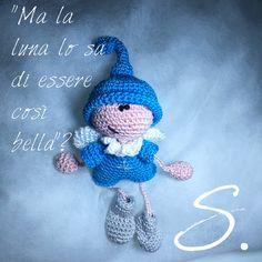 MichelAngelo - il custode dei sogni. Amigurumi crochet angel.
