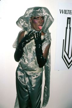 26 of Grace Jones' Most Perfect, Iconic, Outrageous Looks - ELLE.com