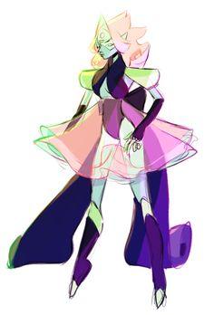 Pearl/Sapphire/Peridot fusion