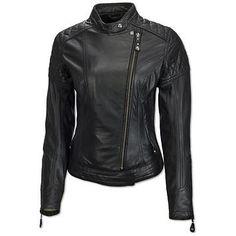 Roland Sands Design Riot Womens Black Leather Jacket