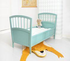 Vintage baby/peuterbed | Feestrijk