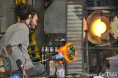 Savor The Days: Vetro Glass Blowing Studio Tour