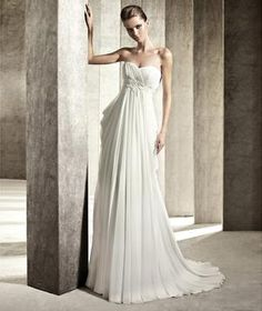 Pronovias 2012 You Collection - Jamaica Wedding Dress would be perfect for a beach wedding.