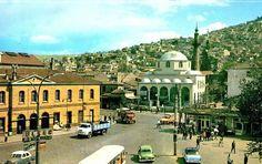 Basmane gar ve Çorakkapı cami İZMİR 1968