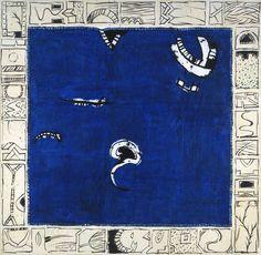 Pierre Alechinsky (Belgian, born The birthplace of the comma (Le berceau de la virgule), 2005 Acrylic on paper, 186 x 188 cm Cobra Art, Tachisme, Mark Rothko, Original Image, Abstract Expressionism, Art Forms, Les Oeuvres, Artsy, Printmaking