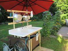 The Deliberate Agrarian: My New Outdoor Sink