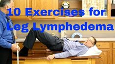 10 exercises for leg lymphatic edema (swelling or edema) / K Tape, Foot Remedies, Natural Remedies, Lymphatic Drainage Massage, Water Retention Remedies, Leg Lymphedema, Cellulite Remedies, Self Massage, Massage Tips