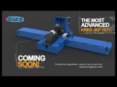 Kreg Jig K5 New Features at a Glance | The most advanced Kreg Jig yet! It combines the best features of every Kreg Jig that came before it, with great new features that make it easier than ever before to build it yourself, and build it better! via kregtool.com