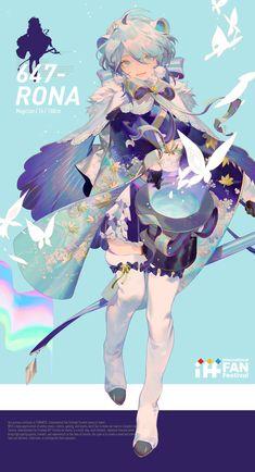 零@AR-617 (@rei_17) / Twitter Art And Illustration, Character Illustration, Kawaii Anime Girl, Anime Art Girl, Manga Art, Character Concept, Character Art, Concept Art, Cute Characters