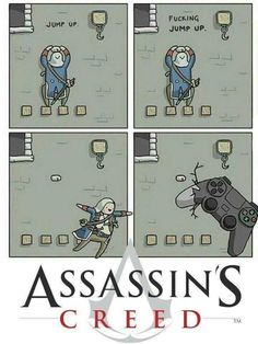 Assassins Creed in a nutshell via /r/gaming