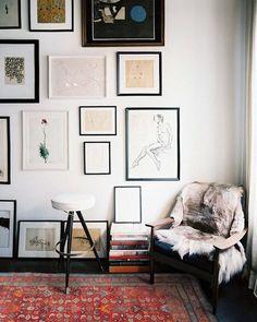 Gallery Wall · Creative Home Decor Inspiration · Wall Art Home Interior, Interior And Exterior, Interior Decorating, Decorating Ideas, Modern Interior, Interior Plants, Luxury Interior, Bathroom Interior, Kitchen Interior