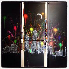 Peinture sur #frigo !!