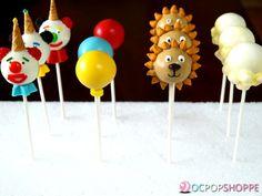 Circus Cake Pops- you got this, right Christina?