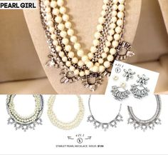 Love this Starlet Pearl necklace!! Even better that it's versatile! #stella&dot www.stelladot.com/jessicakellen