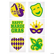 Mardi Gras Jewelry | OrientalTrading.com Oriental Trading, Mardi Gras, Green And Gold, Masquerade, How To Apply, Glitter, Purple, Tattoos, Party