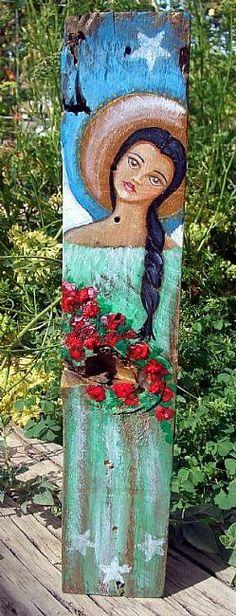 Google Image Result for http://www.ebsqart.com/Art/Gallery/ACRYLICS-GLITTER/596152/650/650/FOLK-ART-FLOWER-ANGEL-PAINTING.jpg