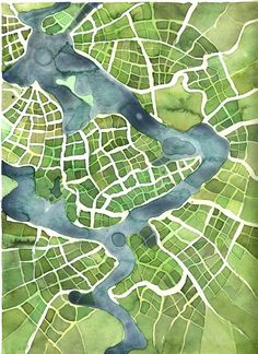 Imaginary cartography.