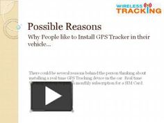 Before going to install car tracker in your vehicle must have a look on the slide because a few steps make you able to install tracker easily. Car Tracker, Gps Tracking Device, Vehicle, Presentation, Vehicles
