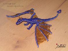 beading dragons | Beaded Dragon II by ~Daantjuh-3DO on deviantART