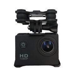 짐벌 W/카메라 홀더 시마 X8C X8W RC 쿼드 콥터 드론 예비 부품 블랙