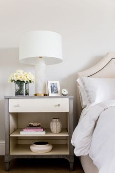 Interior Designer Jennifer Wagner Schmidt | Bedside table styling ...