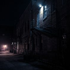 I chose this picture to be where the murder happens because it is dimly lit.  The murder happens at night when the cop Sam Wood is on his night patrol which makes this a perfect scene.  Because this murder happens at the time when their big festival is happening it causes panic and uproar.  With this murder happening some tough choices are made and opinions are being shared but also one or two people get betrayed and it all started when someone wanted to crack at being bad.