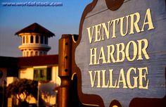 Ventura Harbor Village Sign