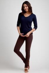 ecoKashmere Bamboo Long Leggings    #dress #fashion #pants bamboomo.com