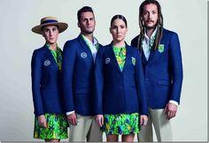Olimpíadas 2016: Apresentação dos uniformes das cerimônias de abertura e encerramento. -  WestinMorg / Blog de Moda Masculina e Variedades